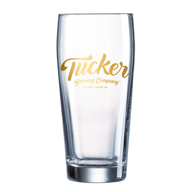 Tucker Brewing Company Willi Becher Glass (Set of 4)