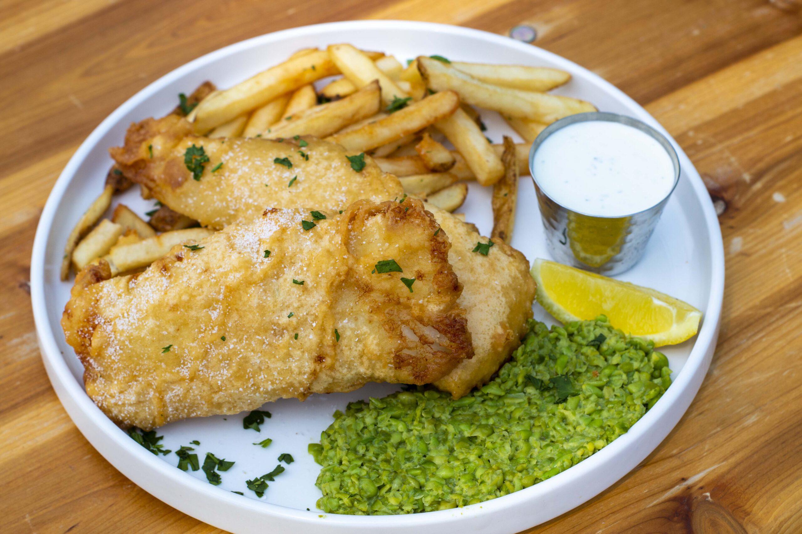 TUCKER LAGER BATTERED FISH & CHIPS-tucker-brewing-kitchen